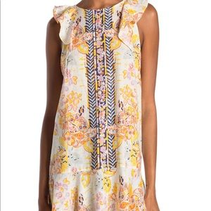 Free People  cream Tulum tunic